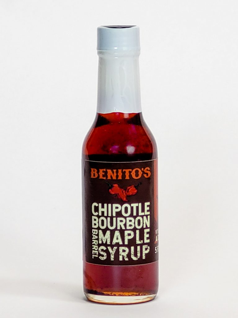 benitos hot sauce bourbon chipotle maple syrup