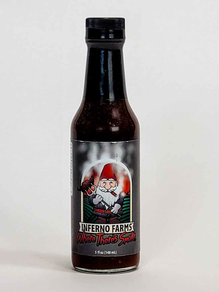 inferno farms where there's smoke hot sauce