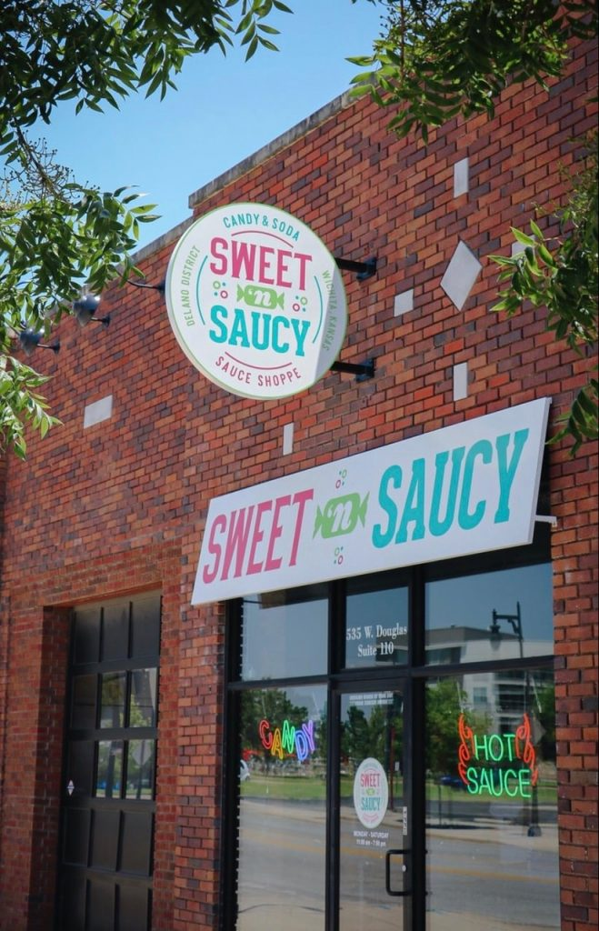 sweet n saucy store Wichita kansas