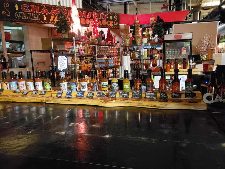 flavor and fire Columbus ohio hot sauce shop