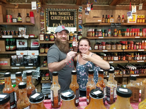 inferno hot sauce shop in Georgia